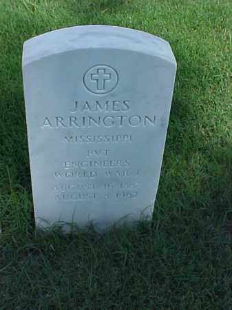 ARRINGTON (VETERAN WWI), JAMES - Pulaski County, Arkansas | JAMES ARRINGTON (VETERAN WWI) - Arkansas Gravestone Photos