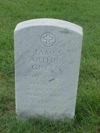 ARTHUR (VETERAN WWI), JAMES ARTHUR - Pulaski County, Arkansas | JAMES ARTHUR ARTHUR (VETERAN WWI) - Arkansas Gravestone Photos