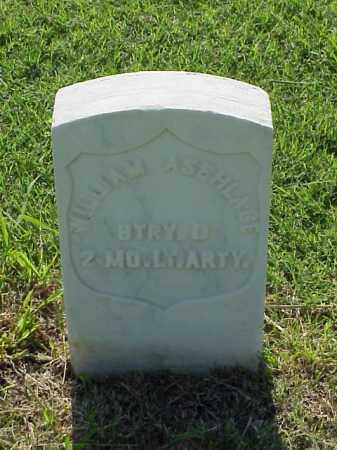ASEHLAGE (VETERAN UNION), WILLIAM - Pulaski County, Arkansas | WILLIAM ASEHLAGE (VETERAN UNION) - Arkansas Gravestone Photos