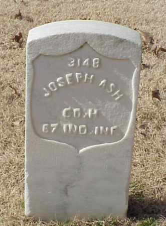 ASH (VETERAN UNION), JOSEPH - Pulaski County, Arkansas | JOSEPH ASH (VETERAN UNION) - Arkansas Gravestone Photos