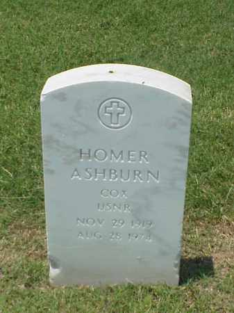ASHBURN (VETERAN WWII), HOMER - Pulaski County, Arkansas | HOMER ASHBURN (VETERAN WWII) - Arkansas Gravestone Photos