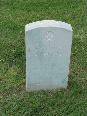 ASHBY, SR (VETERAN 2 WARS), ELTON T - Pulaski County, Arkansas | ELTON T ASHBY, SR (VETERAN 2 WARS) - Arkansas Gravestone Photos