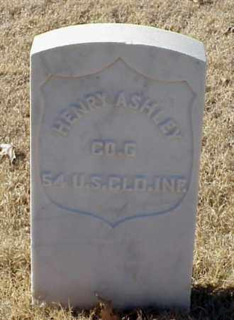 ASHLEY (VETERAN UNION), HENRY - Pulaski County, Arkansas | HENRY ASHLEY (VETERAN UNION) - Arkansas Gravestone Photos