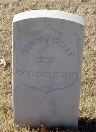 ASHLEY (VETERAN UNION), HENRY - Pulaski County, Arkansas | HENRY ASHLEY (VETERAN UNION) - Arkansas Gravestone Photos