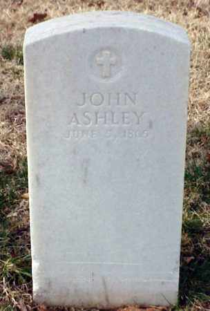 ASHLEY (VETERAN UNION), JOHN - Pulaski County, Arkansas | JOHN ASHLEY (VETERAN UNION) - Arkansas Gravestone Photos