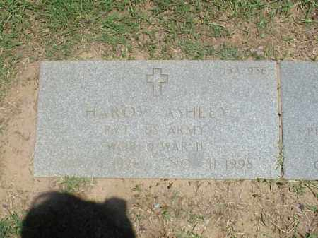 ASHLEY (VETERAN WWII), HAROW - Pulaski County, Arkansas | HAROW ASHLEY (VETERAN WWII) - Arkansas Gravestone Photos