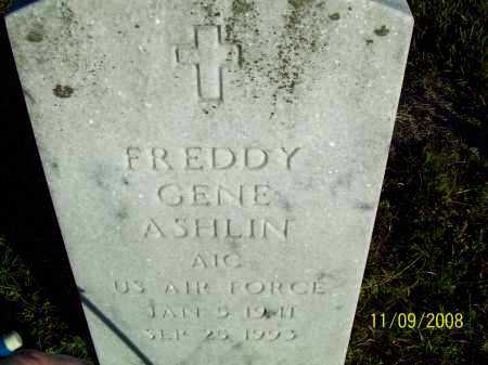ASHLIN  (VETERAN), FREDDY GENE - Pulaski County, Arkansas | FREDDY GENE ASHLIN  (VETERAN) - Arkansas Gravestone Photos