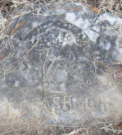 ASHMORE, L E - Pulaski County, Arkansas | L E ASHMORE - Arkansas Gravestone Photos