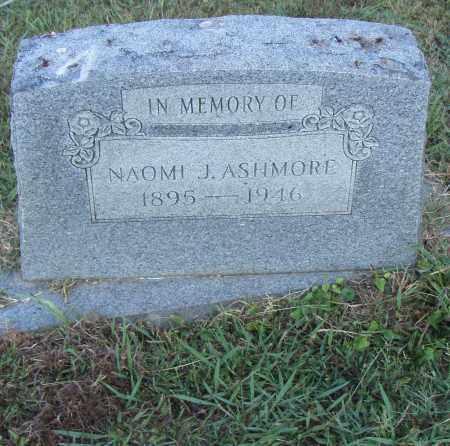 ASHMORE, NAOMI J. - Pulaski County, Arkansas | NAOMI J. ASHMORE - Arkansas Gravestone Photos