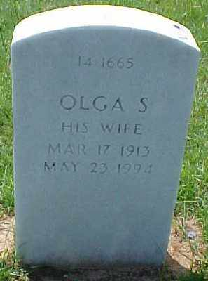ASHTON, OLGA S. - Pulaski County, Arkansas | OLGA S. ASHTON - Arkansas Gravestone Photos