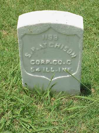 ATCHISON (VETERAN UNION), S P - Pulaski County, Arkansas | S P ATCHISON (VETERAN UNION) - Arkansas Gravestone Photos