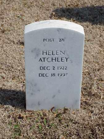 ATCHLEY, HELEN - Pulaski County, Arkansas | HELEN ATCHLEY - Arkansas Gravestone Photos