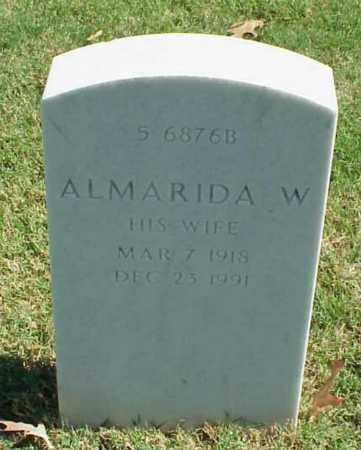 ATHERTON, ALMARIDA W - Pulaski County, Arkansas | ALMARIDA W ATHERTON - Arkansas Gravestone Photos