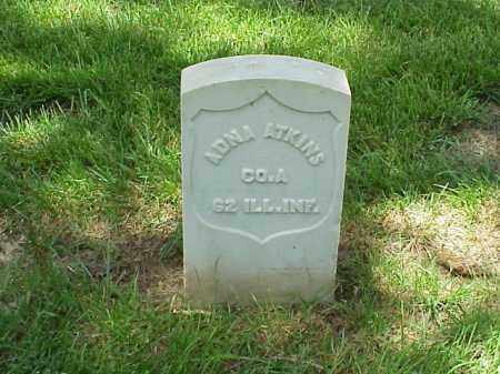 ATKINS (VETERAN UNION), ADNA - Pulaski County, Arkansas | ADNA ATKINS (VETERAN UNION) - Arkansas Gravestone Photos