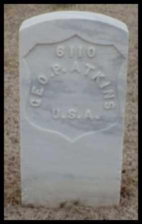 ATKINS (VETERAN UNION), GEORGE P - Pulaski County, Arkansas   GEORGE P ATKINS (VETERAN UNION) - Arkansas Gravestone Photos