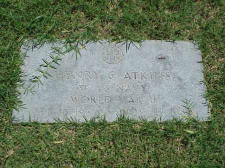 ATKINS (VETERAN WWII), HENRY C - Pulaski County, Arkansas | HENRY C ATKINS (VETERAN WWII) - Arkansas Gravestone Photos