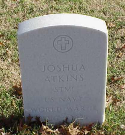 ATKINS (VETERAN WWII), JOSHUA - Pulaski County, Arkansas | JOSHUA ATKINS (VETERAN WWII) - Arkansas Gravestone Photos