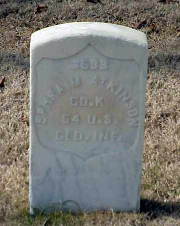 ATKINSON (VETERAN UNION), EPHRAIM - Pulaski County, Arkansas | EPHRAIM ATKINSON (VETERAN UNION) - Arkansas Gravestone Photos