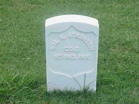 ATKINSON (VETERAN UNION), WILLIAM A - Pulaski County, Arkansas | WILLIAM A ATKINSON (VETERAN UNION) - Arkansas Gravestone Photos