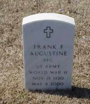 AUGUSTINE (VETERAN WWII), FRANK F - Pulaski County, Arkansas | FRANK F AUGUSTINE (VETERAN WWII) - Arkansas Gravestone Photos