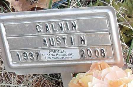 AUSTIN, CALVIN - Pulaski County, Arkansas | CALVIN AUSTIN - Arkansas Gravestone Photos