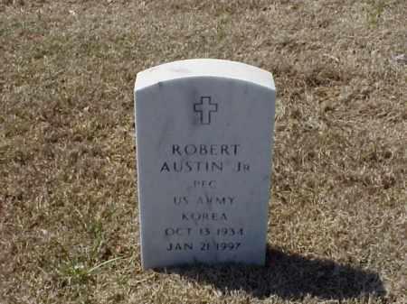 AUSTIN, JR (VETERAN KOR), ROBERT - Pulaski County, Arkansas | ROBERT AUSTIN, JR (VETERAN KOR) - Arkansas Gravestone Photos