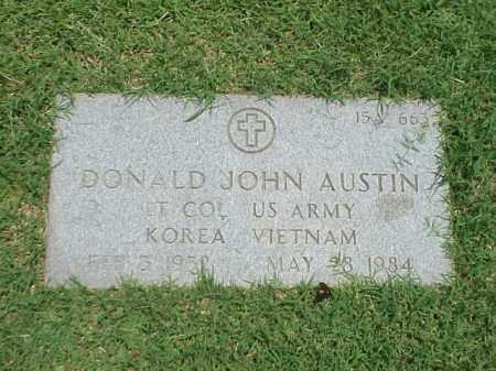 AUSTIN (VETERAN 2WARS), DONALD JOHN - Pulaski County, Arkansas | DONALD JOHN AUSTIN (VETERAN 2WARS) - Arkansas Gravestone Photos