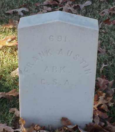 AUSTIN (VETERAN CSA), FRANK - Pulaski County, Arkansas | FRANK AUSTIN (VETERAN CSA) - Arkansas Gravestone Photos