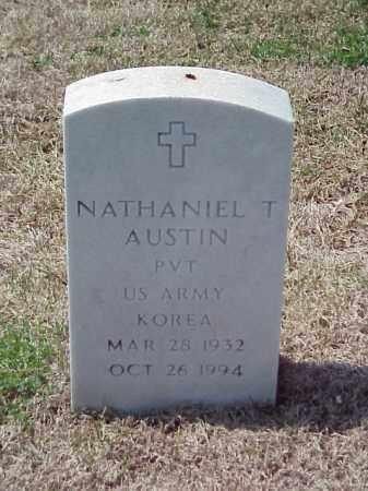 AUSTIN (VETERAN KOR), NATHANIEL T - Pulaski County, Arkansas | NATHANIEL T AUSTIN (VETERAN KOR) - Arkansas Gravestone Photos