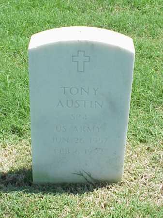 AUSTIN (VETERAN), TONY - Pulaski County, Arkansas | TONY AUSTIN (VETERAN) - Arkansas Gravestone Photos