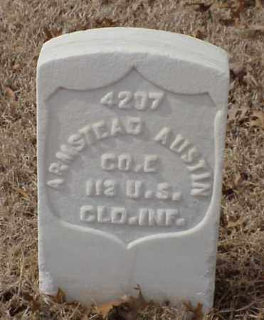 AUSTIN (VETERAN UNION), ARMSTEAD - Pulaski County, Arkansas | ARMSTEAD AUSTIN (VETERAN UNION) - Arkansas Gravestone Photos