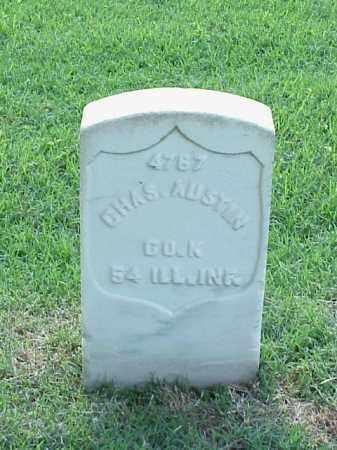 AUSTIN (VETERAN UNION), CHARLES - Pulaski County, Arkansas | CHARLES AUSTIN (VETERAN UNION) - Arkansas Gravestone Photos