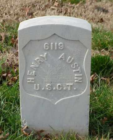 AUSTIN (VETERAN UNION), HENRY - Pulaski County, Arkansas | HENRY AUSTIN (VETERAN UNION) - Arkansas Gravestone Photos