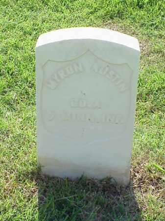 AUSTIN (VETERAN UNION), MYRON - Pulaski County, Arkansas | MYRON AUSTIN (VETERAN UNION) - Arkansas Gravestone Photos