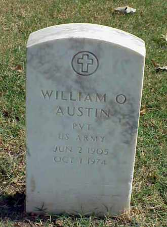 AUSTIN (VETERAN), WILLIAM O - Pulaski County, Arkansas | WILLIAM O AUSTIN (VETERAN) - Arkansas Gravestone Photos