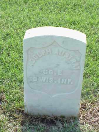 AUSTRAT (VETERAN UNION), ADOLPH - Pulaski County, Arkansas | ADOLPH AUSTRAT (VETERAN UNION) - Arkansas Gravestone Photos