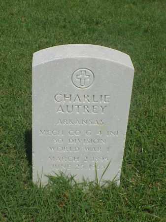 AUTREY (VETERAN WWI), CHARLIE - Pulaski County, Arkansas | CHARLIE AUTREY (VETERAN WWI) - Arkansas Gravestone Photos