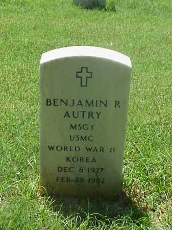 AUTRY (VETERAN 2WARS), BENJAMIN R - Pulaski County, Arkansas | BENJAMIN R AUTRY (VETERAN 2WARS) - Arkansas Gravestone Photos