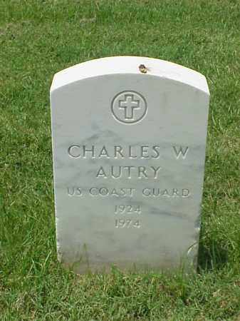 AUTRY (VETERAN KOR), CHARLES W - Pulaski County, Arkansas | CHARLES W AUTRY (VETERAN KOR) - Arkansas Gravestone Photos