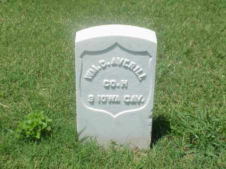 AVERILL (VETERAN UNION), WILLIAM C - Pulaski County, Arkansas | WILLIAM C AVERILL (VETERAN UNION) - Arkansas Gravestone Photos