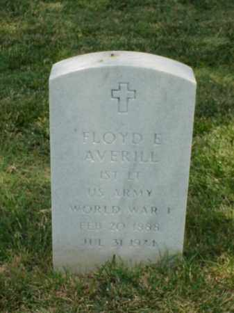AVERILL (VETERAN WWI), FLOYD E - Pulaski County, Arkansas | FLOYD E AVERILL (VETERAN WWI) - Arkansas Gravestone Photos