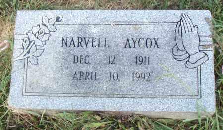 AYCOX, NARVELL - Pulaski County, Arkansas | NARVELL AYCOX - Arkansas Gravestone Photos