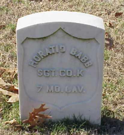 BABB (VETERAN UNION), HORATIO - Pulaski County, Arkansas | HORATIO BABB (VETERAN UNION) - Arkansas Gravestone Photos