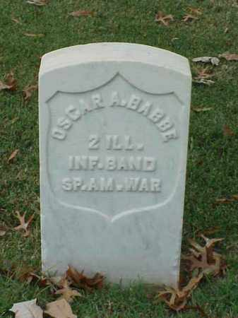 BABBE (VETERAN SAW), OSCAR A - Pulaski County, Arkansas | OSCAR A BABBE (VETERAN SAW) - Arkansas Gravestone Photos