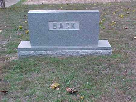 BACK FAMILY STONE,  - Pulaski County, Arkansas |  BACK FAMILY STONE - Arkansas Gravestone Photos