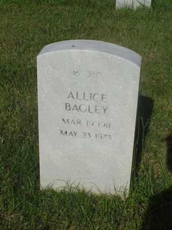 BAGLEY, ALLICE - Pulaski County, Arkansas | ALLICE BAGLEY - Arkansas Gravestone Photos
