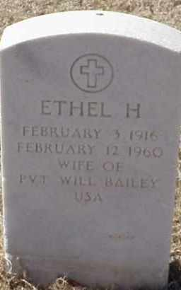 BAILEY, ETHEL H. - Pulaski County, Arkansas | ETHEL H. BAILEY - Arkansas Gravestone Photos