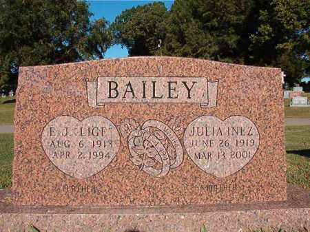 "BAILEY, E J ""LIGE"" - Pulaski County, Arkansas 