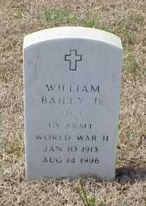 BAILEY, JR (VETERAN WWII), WILLIAM - Pulaski County, Arkansas | WILLIAM BAILEY, JR (VETERAN WWII) - Arkansas Gravestone Photos