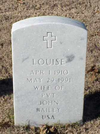 BAILEY, LOUISE - Pulaski County, Arkansas | LOUISE BAILEY - Arkansas Gravestone Photos
